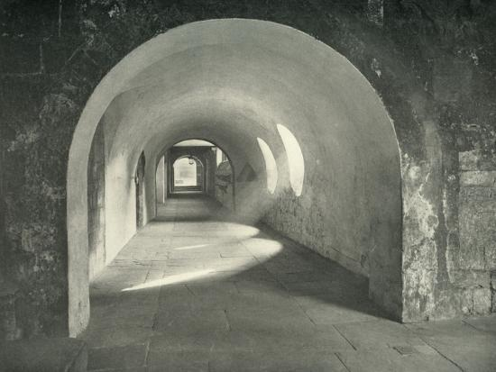 'Norman Arch in the Cloisters, Westminster Abbey, 1908-Unknown-Photographic Print