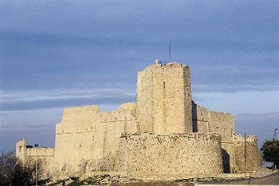 Norman Castle of Monte Sant'Angelo, Bari, Apulia, Italy, 12th Century--Giclee Print