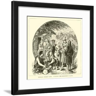 Norman Forest Laws, Cutting the Herd-Dog's Claws--Framed Giclee Print