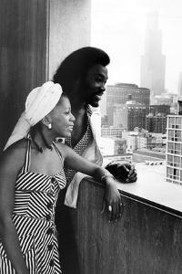 Ashford and Simpson, 1973 by Norman Hunter