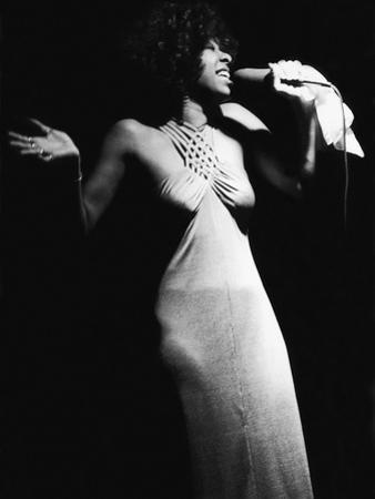 Famed Vocalist Natalie Cole, Chicago's High Chaparral, September 1975