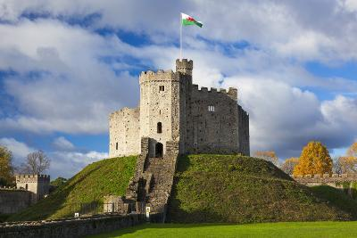 Norman Keep, Cardiff Castle, Cardiff, Wales, United Kingdom, Europe-Billy Stock-Photographic Print