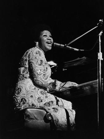 Aretha Franklin by Norman L. Hunter