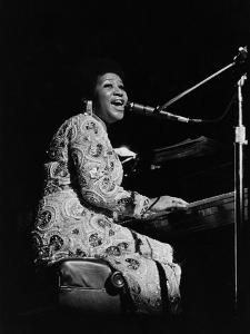 Aretha Franklin by Norman L. Hunter