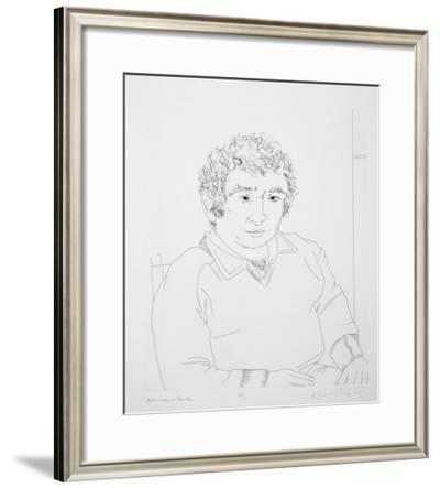 Norman Mailer-Knox Martin-Framed Limited Edition