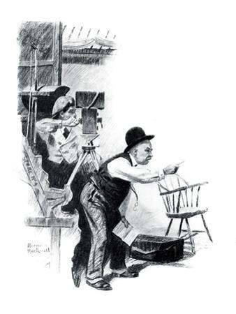 """""""A Love Story"""" page 10 by Norman Rockwell"""