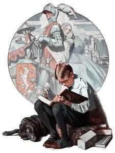 """""""Age of Romance"""", November 10,1923 by Norman Rockwell"""