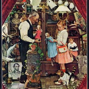 """""""April Fool, 1948"""", April 3,1948 by Norman Rockwell"""
