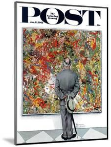 """""""Art Connoisseur"""" Saturday Evening Post Cover, January 13,1962 by Norman Rockwell"""