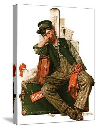 """""""Asleep on the Job"""", August 29,1925"""
