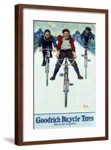 BF Goodrich Bicycle Tires by Norman Rockwell