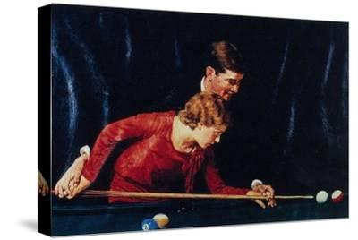 Billiards Is Easy to Learn (or Couple Playing Billiards)