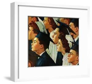 Bright Future Ahead by Norman Rockwell