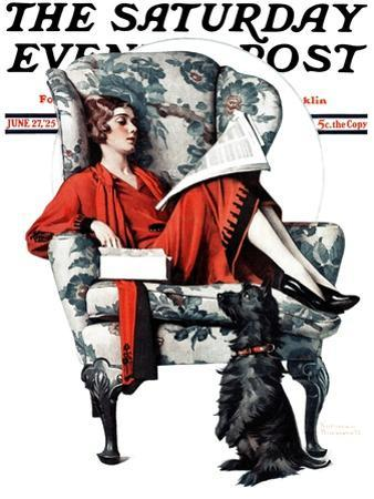 """Candy"" Saturday Evening Post Cover, June 27,1925 by Norman Rockwell"