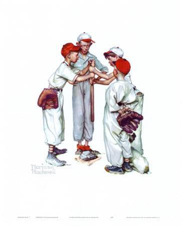 Choosin' Up by Norman Rockwell