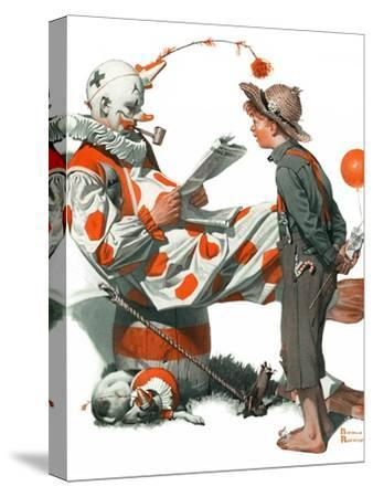 """""""Circus"""" or """"Meeting the Clown"""", May 18,1918"""