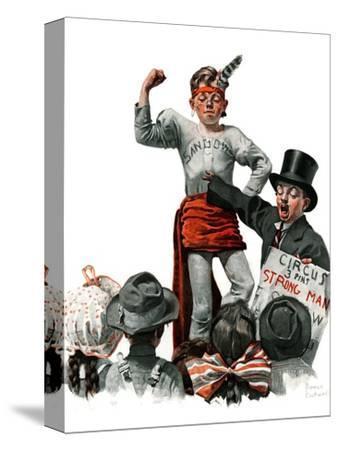 """""""Circus Strongman"""", June 3,1916"""