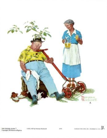 Cool Aid by Norman Rockwell
