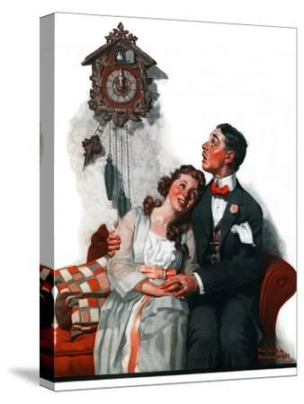 """""""Courting under the Clock at Midnight"""", March 22,1919"""