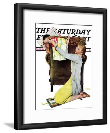"""Decorator"" Saturday Evening Post Cover, March 30,1940"