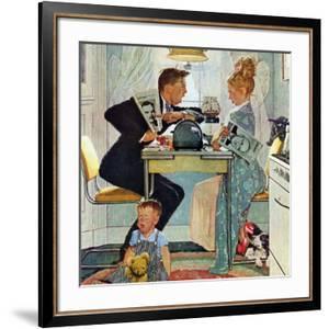 """Dewey v. Truman"", October 30,1948 by Norman Rockwell"