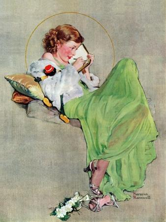 """Diary"", June 17,1933 by Norman Rockwell"