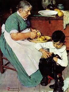 """""""Down-East  Ambrosia"""", March 19,1938 by Norman Rockwell"""