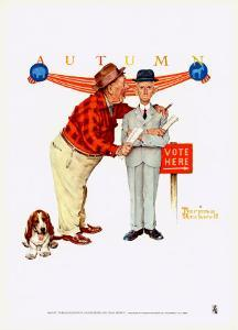 Final Speech by Norman Rockwell