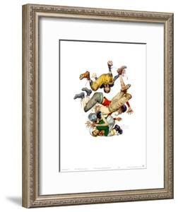 First Down by Norman Rockwell