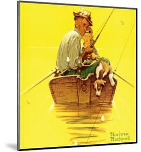 Fish Finders by Norman Rockwell