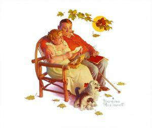 Fondly Do We Remember by Norman Rockwell