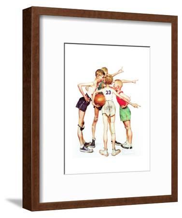 Four Sporting Boys: Basketball