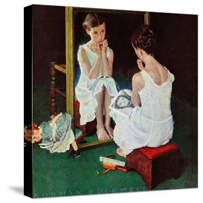 """Girl at the Mirror"", March 6,1954"