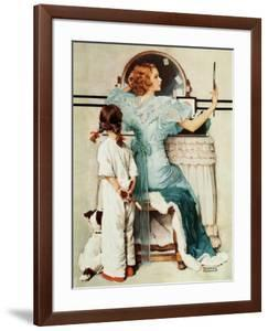 """""""Going Out"""", October 21,1933 by Norman Rockwell"""