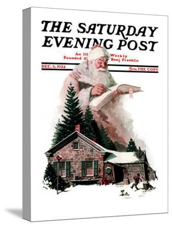 """Good Deeds"" Saturday Evening Post Cover, December 6,1924"
