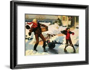 Good for Young and Old by Norman Rockwell