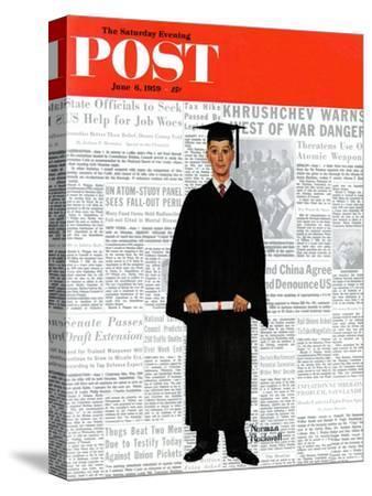 """Graduate"" Saturday Evening Post Cover, June 6,1959"