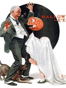 """Halloween"", October 23,1920 by Norman Rockwell"