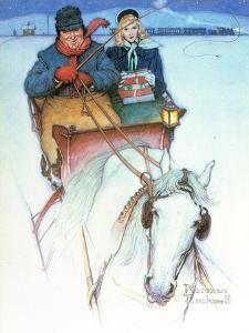 Homecoming by Norman Rockwell