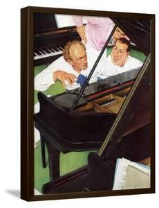 """Jeff Raleigh's Piano Solo"", May 27,1939 by Norman Rockwell"