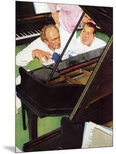 """""""Jeff Raleigh's Piano Solo"""", May 27,1939 by Norman Rockwell"""