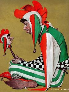 """""""Jester"""", February 11,1939 by Norman Rockwell"""
