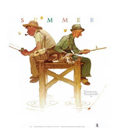 Lazy Days by Norman Rockwell