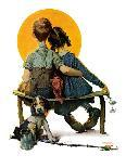 """""""Art Connoisseur"""", January 13,1962-Norman Rockwell-Giclee Print"""