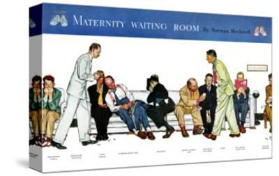"""Maternity Waiting Room"", July 13,1946"