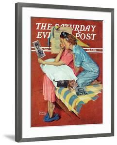 """Movie Star"" Saturday Evening Post Cover, February 19,1938 by Norman Rockwell"
