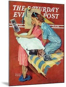"""""""Movie Star"""" Saturday Evening Post Cover, February 19,1938 by Norman Rockwell"""