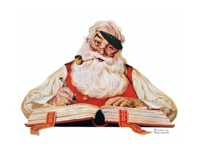 No Christmas Problem Now (or Santa with a Parker Pen)