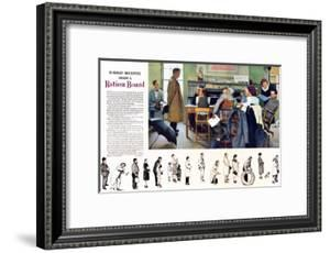 """""""Norman Rockwell visit a Ration Board"""", July 15,1944 by Norman Rockwell"""