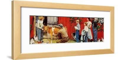 Norman Rockwell Visits a County Agent